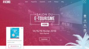 Salon e-tourisme VEM - 14/15/16 février 2018 à Saint-Raphaël