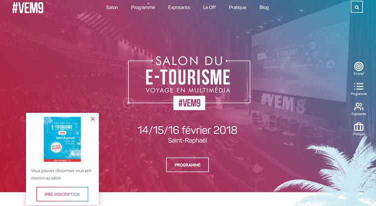 Salon e tourisme voyage en multim dia 14 15 16 f vrier for Salon e tourisme